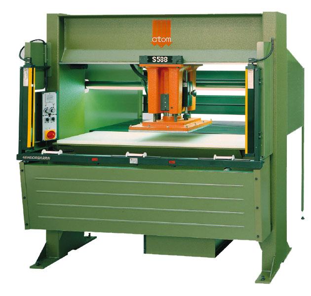 ATOM s588 Travellng Head Cutting Press